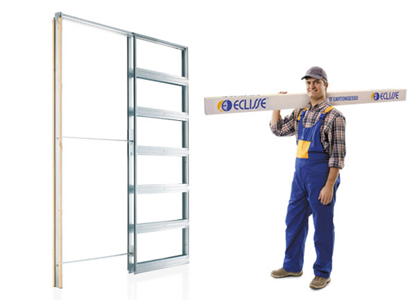 kit eclisse pocket door