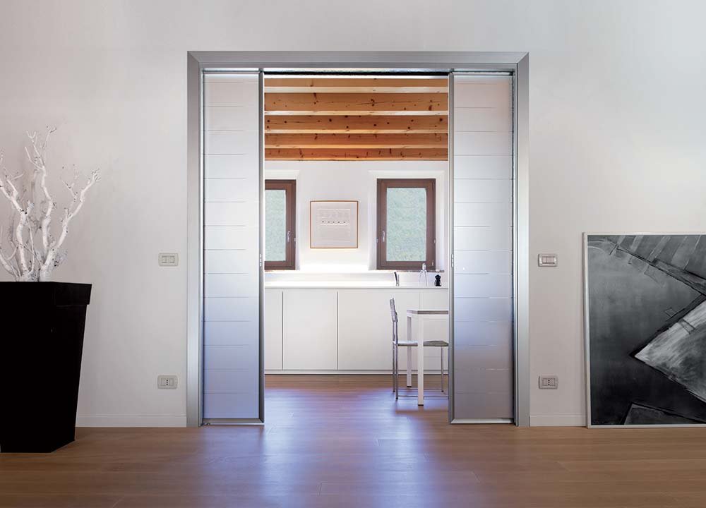 sliding pocket door systems