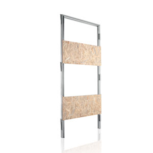 ECLISSE flush-to-the-wall hinged door