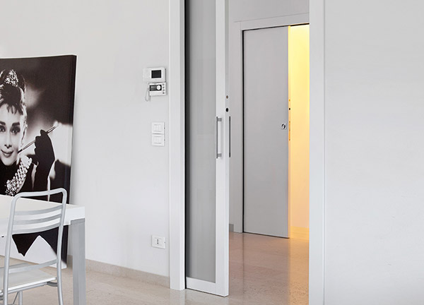 ECLISSE wiring-ready sliding pocket door system