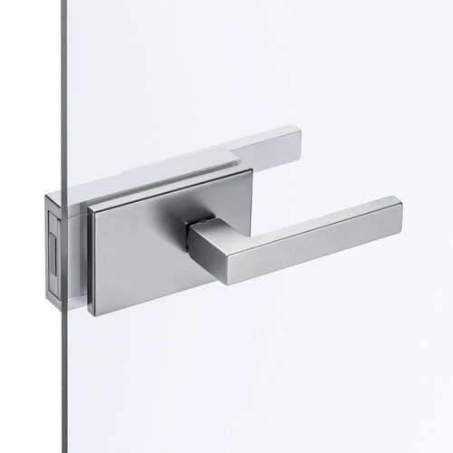 Handles with lock for ECLISSE hinged glass doors