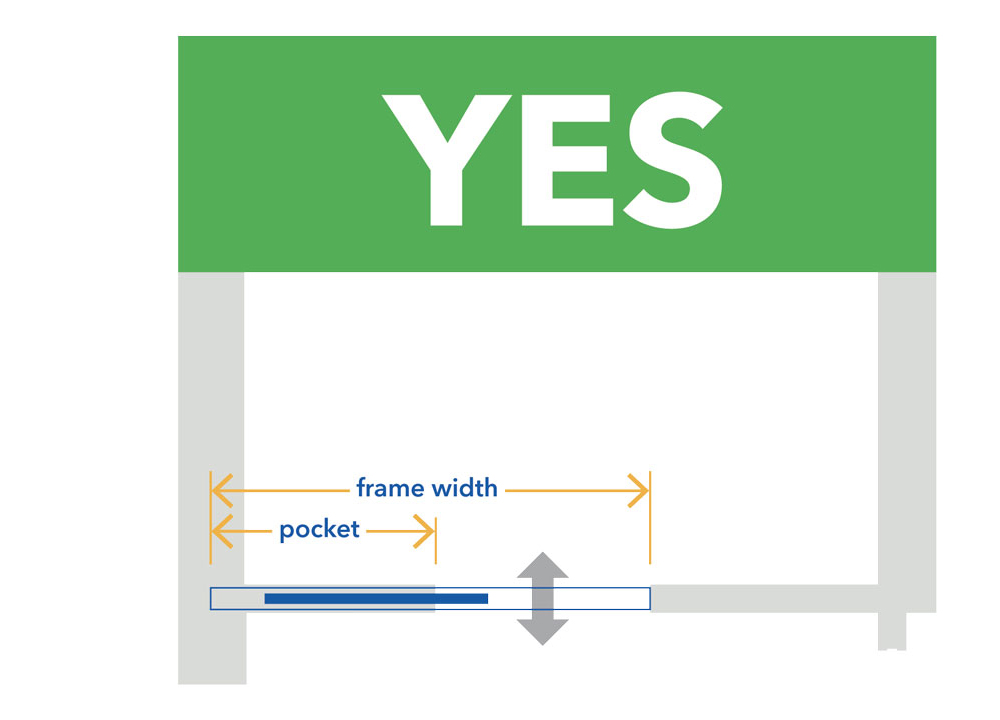 Choosing the right pocket door - fitting frame