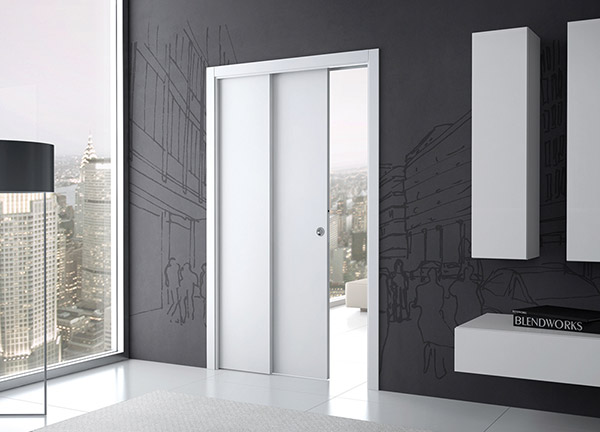 ECLISSE telescopic sliding pocket door system