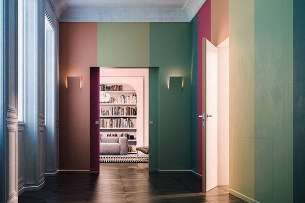 Dwg drawings for hinged and sliding pocket doors - ECLISSE World on