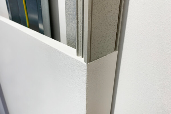 Resin-coated integrated-structure profiles