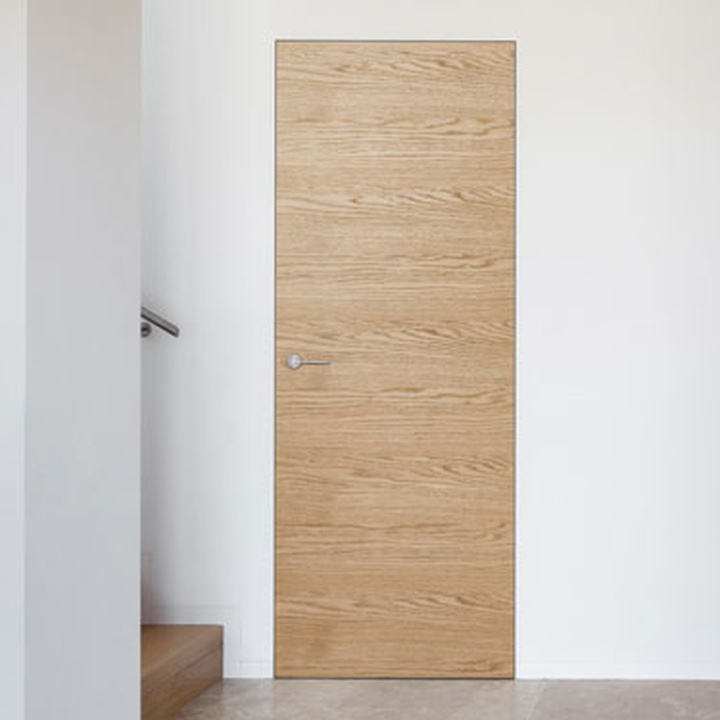 Wooden essences doors