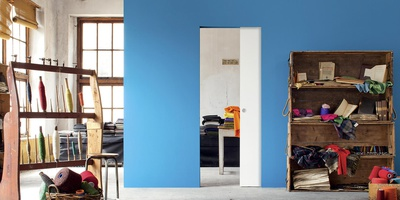 Syntesis Line - Flush pocket door system